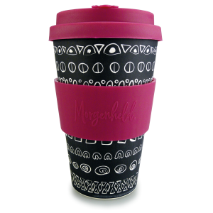 Morgenheld Coffee To Go Becher blacky pink