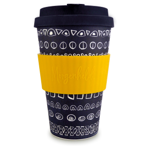 Morgenheld Coffee To Go Becher blacky gelb