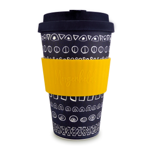 Morgenheld Coffee To Go Becher blacky gelb 2