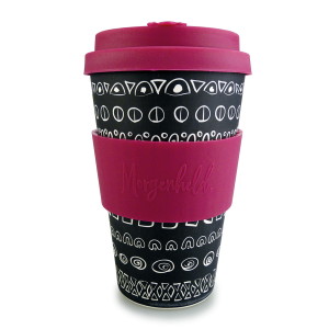 Morgenheld Coffee To Go Becher blacky pink 5